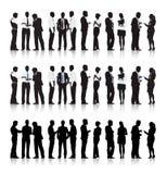 Multiethnische Geschäftsleute Stockfotos