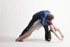 Multiethnische Tänzer-Ausführung Stockbilder