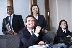 Multiethnisches Geschäftsteam Lizenzfreies Stockfoto
