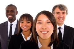 Multiethnisches Team stockfotos