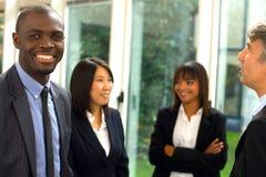Multiethnisches Team Lizenzfreie Stockbilder
