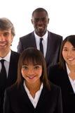Multiethnisches Team stockfotografie