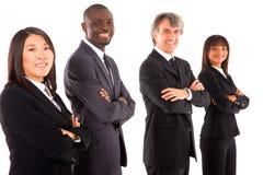 Multiethnisches Team lizenzfreie stockfotos