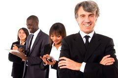 Multiethnisches Team lizenzfreie stockfotografie