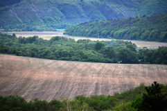 Multifaceted panoramic landscape_2 Royalty Free Stock Photo