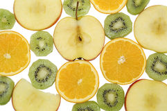 Multifruit background Royalty Free Stock Image