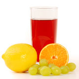 Multifruit juice Stock Photo