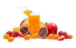 Multifruit juice Royalty Free Stock Photography