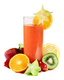 Multifruit juice Royalty Free Stock Image