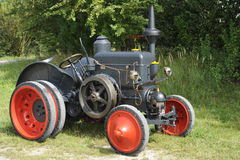Multifuel Traction Engine Lanz HR2 Royalty Free Stock Images