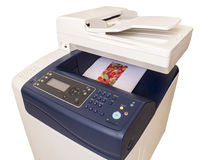 Multifunction color printer Royalty Free Stock Photos