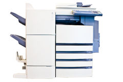 Multifunction copier stock photography