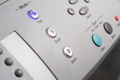 multifunction faxmaskin Arkivbild