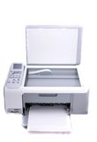 Multifunction printer isolated in white Royalty Free Stock Photos
