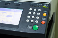 Multifunction printer in office Royalty Free Stock Images