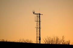multifunctional antenn Arkivfoton