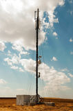 Multifunctional antenna mobile operator Royalty Free Stock Photography