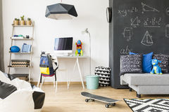 Multifunctional home space for a child Stock Photos