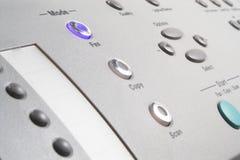 Multifunctioneel Faxapparaat Stock Foto's