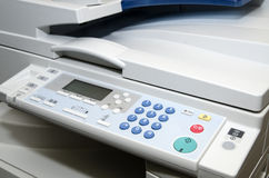 Multifunctionele printer Royalty-vrije Stock Afbeelding