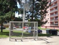 Multifunctionele speelplaats op woonwijk Royalty-vrije Stock Afbeelding