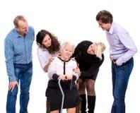 Multigeneration family Royalty Free Stock Image