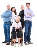 Multigeneration family Stock Photography