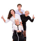 Multigeneration family Stock Image