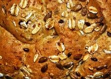 multigrain面包纹理大面包  免版税库存照片
