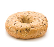 Multigrain bagel Royalty Free Stock Image