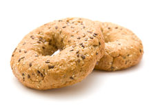 Multigrain bagel Stock Photos