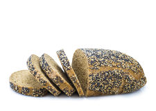 Multigrain black bread Stock Photo