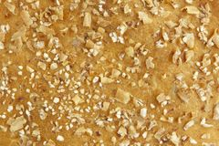 Multigrain bread background Royalty Free Stock Image