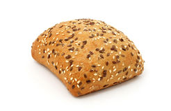 Multigrain bread roll Royalty Free Stock Images