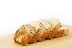 Multigrain bread with sunflower seeds Stock Photography