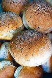 Multigrain Indian Brun Pav bread Loaves stock photos