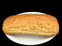 Multigrain roll Royalty Free Stock Photos