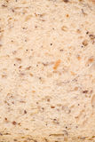 Multigrain seeded bread background Royalty Free Stock Images