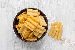 Multigrain snacks stock photo