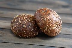 Multigrainbroodjes royalty-vrije stock foto's