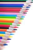 Multiicolored pensils Stock Image