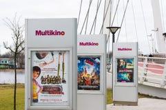 Multikino movies Stock Image