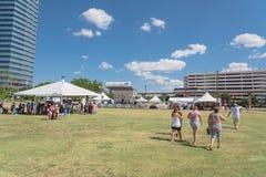 multikulturelle Feier 5. Kanal Fest in Irving, Texas, USA stockfotos
