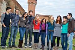 Multikulturelle Gruppe von Personen lizenzfreie stockfotografie