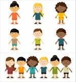 Multikulturelle Kinder Stockfoto