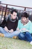 Multikulturelle Studenten lizenzfreie stockfotos