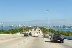 Multilane highway in Miami