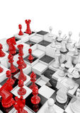 Multilayer chess Royalty Free Stock Photo