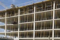 multilevel byggnadskonstruktion royaltyfria bilder