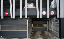 Multilevel  car parking Royalty Free Stock Photography